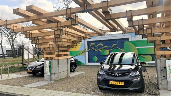 Overkapping E-Mobility Park is af!